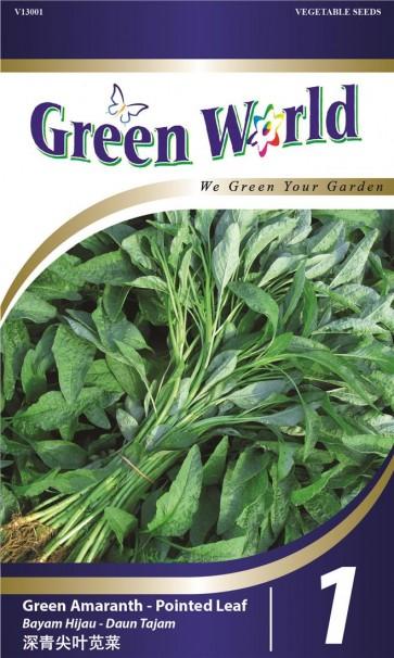 Green World Green Amaranth - Pointed Leaf