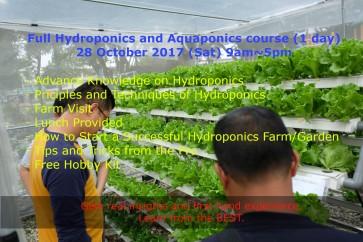 Malaysia Hydroponics Course