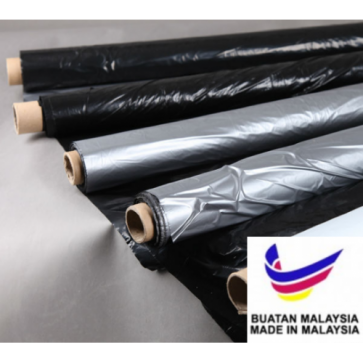 Silver Shine Cover Film Without Hole 0.03mm x 1.2m x 250m (Made In Malaysia)