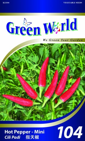 Green World Hot Pepper - Mini