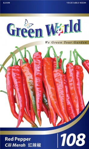 Green World Red Pepper
