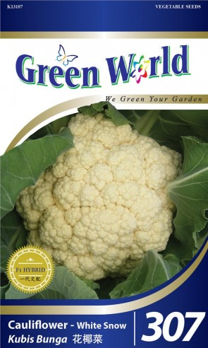 Green World Cauliflower - White Snow