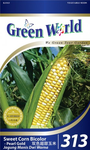 Green World Sweet Corn Bicolor - Pearl Gold