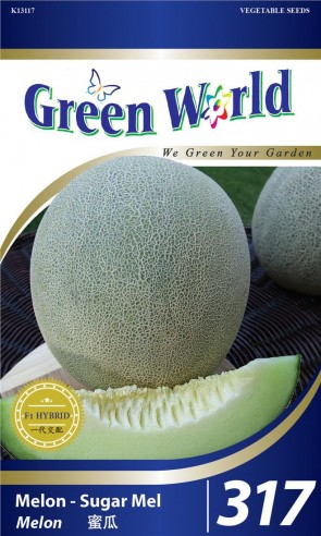 Green World Melon - Sugar Mel
