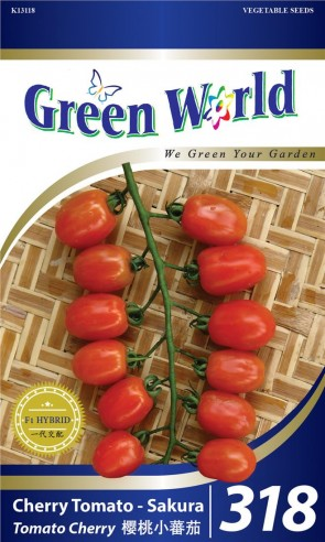 Green World Cherry Tomato - Sakura