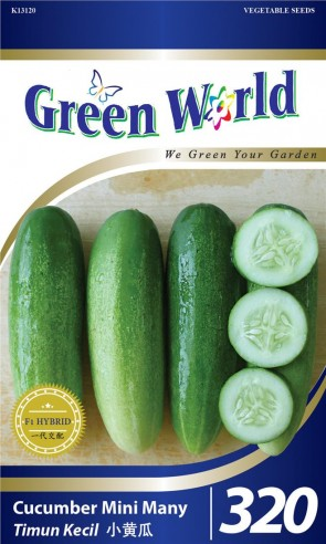 Green World Cucumber Mini Many