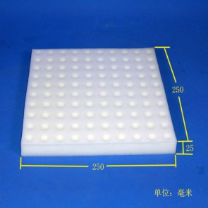 Germination Sponge (With Hole) - 100 cubes per sheet