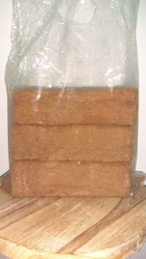 My Urban Growers cocopeat cocofiber brick